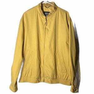 VTG Nuko Homme 90s Yellow Bomber Jackets XL